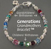 grandmother birthstone bracelet | Mother's Bracelets Birthstone (Grandmother) Bracelets Girls Bracelets ...