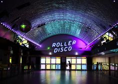 Take me to the Roller Disco