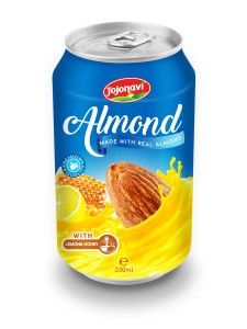 330ml Canned Almond Drink with Lemon and Honey  Almond Milk company Vietnam, Almond Milk Export, Almond Milk factories Vietnam, Almond Milk factory Vietnam, Almond Milk manufacturers companies, Almond Milk wholesalers