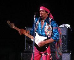 Stock Photo of jimi hendrix guitar legend legendary lefthanded experience