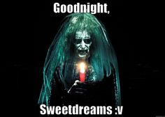 Goodnight Scary Face Meme