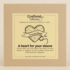 New craftivism kits