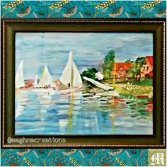 World Art Day ❤ TITLE : Beautiful Sails. MEDIUM : Water paints on rough T.K. paper. THEME : Colourful Bright waters with sails, scenic beauty and pretty houses. #MeghnaCreations #creations #artworkoftheday #worldartday #15 April, 2016 #beautiful #sails #waterpainting #tk #roughpaper #colourbright #scenic #pretty #houses  #mylove #forart #MeghnaParikh #artist #gift #pintrest