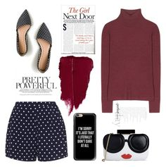 """""""This lovely cutie pie"""" by arainaisna on Polyvore featuring J.Crew, T By Alexander Wang, Zizzi, Alice + Olivia and Casetify"""