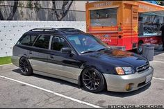#Subaru_Legacy_Wagon #Slammed #Stance