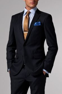 Mens Suits Suits for Men Indochino Sharp Dressed Man, Well Dressed Men, Mens Fashion Suits, Mens Suits, Mens Attire, Women's Fashion, Pinstripe Suit, Suit And Tie, Business Attire