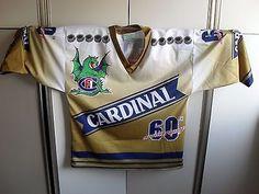Maglia Fribourg-Gottéron Hockey Cardinal Dragon Event 60° Anniversary (C82)
