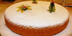 A delicious vasilopita recipe, infused with the aromas and blends of oranges and garnished with a thick and glossy vanilla scented sugar glaze or sprinkled with icing sugar! Vasilopita is a traditi. Vasilopita Cake, Vasilopita Recipe, Xmas Food, Christmas Sweets, Christmas Time, Christmas Signs, Sweets Cake, Cupcake Cakes, Merida