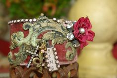 Tattered dream cuff