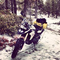Snowy trails