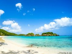 Your vacation forecast for St. John: sunny skies and warm water. barretttravel.globaltravel.com pamelabarrett22@gmail.com