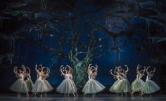 Giselle. Ballet de Santiago. Camila Aranda (Myrtha). Foto: Patricio Melo.