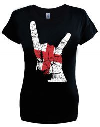 St George Horns Flag. Sizes S-2XL. Buy now from our SCM Facebook store.