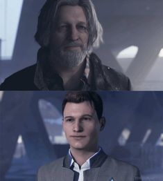 Hank and Connor