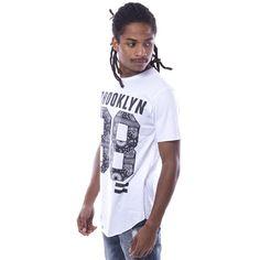 Camiseta Brooklyn 98 Blanca - Camisetas - Hombre www.ebolet.com #ebolet #camiseta #urbana #street #chico