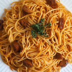 New Orleans Recipes, New Recipes, Dinner Recipes, Cooking Recipes, Healthy Recipes, Donut Recipes, Weekly Recipes, Haitian Spaghetti Recipe, Spaghetti Recipes