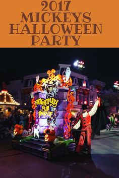 2017 Mickeys Halloween Party review and tips!