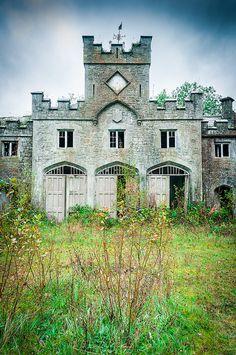 """Castle Carr"" in Luddenden Dene in West Yorkshire in England"