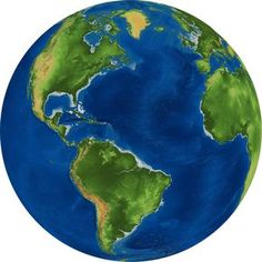 Earth Observations: I. what shape is the globe/Earth? (water) What is the green (land). Identify each continent. Which Continent do we live on? Earth Globe by GDJ 3d World Globe, Art Globe, World Globes, World Pictures, Pictures To Draw, Globe Drawing, Globe Picture, Globe Image, Earth Drawings