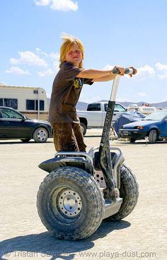 #segway's - for those special conditions.  --  gotta be prepared!