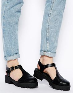 Image 4 - ASOS - MAGIC NUMBER - Chaussures plates style salomés