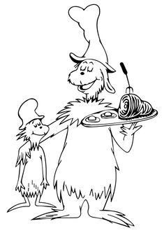 1000 Ideas About Dr Seuss Coloring Pages On Pinterest