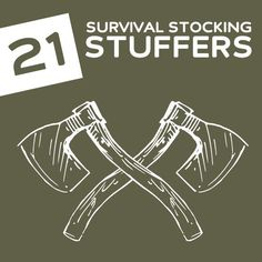 21 Useful Stocking Stuffers- to help survive the end of the world.