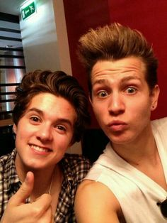 The Vamps - Brad and James
