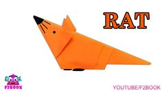 Simple Tutorials How To Make Mouse || Origami Animals || Paper Craft For...