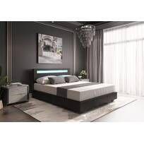 Latitude Run® Jacoury Queen Low Profile Platform Bed & Reviews | Wayfair Queen Platform Bed, Upholstered Platform Bed, Upholstered Beds, Black Bedroom Design, Bedroom Bed Design, Bedroom Decor, Bedroom Setup, Bedroom Furniture, Bedroom Ideas