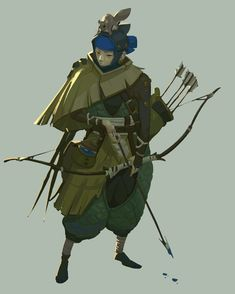 ArtStation - Character, Rong Chen