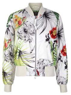 Jonathan Saunders psychedelic silk bomber jackets