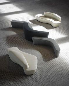 Sectional modular #sofa POLAR PERCH - Tacchini Italia Forniture