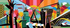 Quadro São Paulo Pop Art #popart #sp