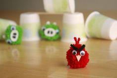 Cómo hacer un muñeco de Angry Birds - IMujer