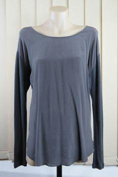 Size S 10 Kookai Ladies Top Blouse Wool Silk Casual Boho Chic Business Design
