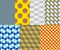Geometric Pattern Vector Graphics Free Vector