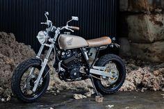 Racing Cafè: Honda XR 600 Street Tracker by 66 Motorcycles
