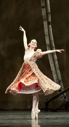 National Ballet of Canada's Jillian Vanstone in Onegin. Photo by Sian Richards.