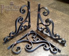 wrought iron corbels | Wrought Iron Corbels