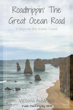 The Great Ocean Road in Victoria Australia offers some of the most unique natural beauty this planet has to offer. Australia Destinations, Australia Travel Guide, Visit Australia, Travel Destinations, Australia Holidays, Australia Trip, Travel Guides, Travel Tips, Travel Advice