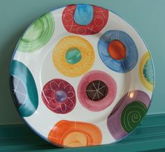 Large candy charger www.packercreekpottery.com