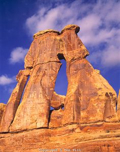 Druid Arch, Needles Section, Canyonlands National Park, Utah