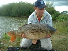 Common carp caught on shelf life boilies