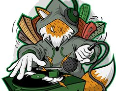 """Check out new work on my @Behance portfolio: """"Mix Fox shirt contest"""" http://be.net/gallery/31901461/Mix-Fox-shirt-contest"""
