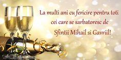 La multi ani cu fericire pentru toti cei care se sarbatoresc de Sfintii Mihail si Gavriil!