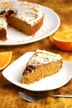 Paleo Orange Coconut Cake (sweet potato, eggs, coconut flour, cashew flour, coconut cream)