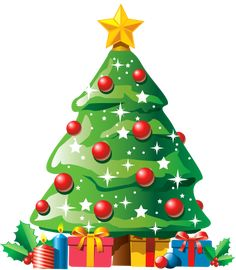 christmas tree with gifts png clipart the best png clipart clipartpngcom christmas tree