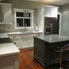 kitchen white cabinets black appliances design pictures remodel