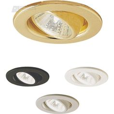 Nora Lighting NM-130 Mini Low Voltage MR11 Adjustable Downlight Trim ONLY NM-130